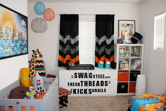 In LOVE with those curtains!Modern Colors, Painting Chips, Bays Area, Boys Nurseries, Kids Room, Bay Area, San Francisco, Baby Boys Room, Urban Nurseries