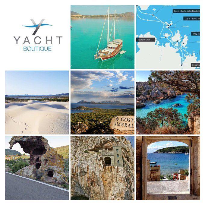 #Italië luxe #zeilvakantie, #zeilcruise met #crew in #Sardinië op #deluxe #zeiljacht #Gulet #Victoria #YachtBoutique #bootcruise #meezeilen