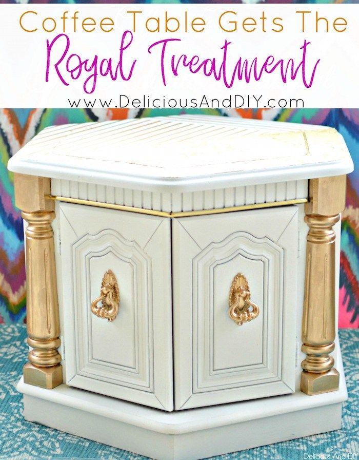 Learn how to paint your old furniture and give it the Royal Treatment  Give a fl...