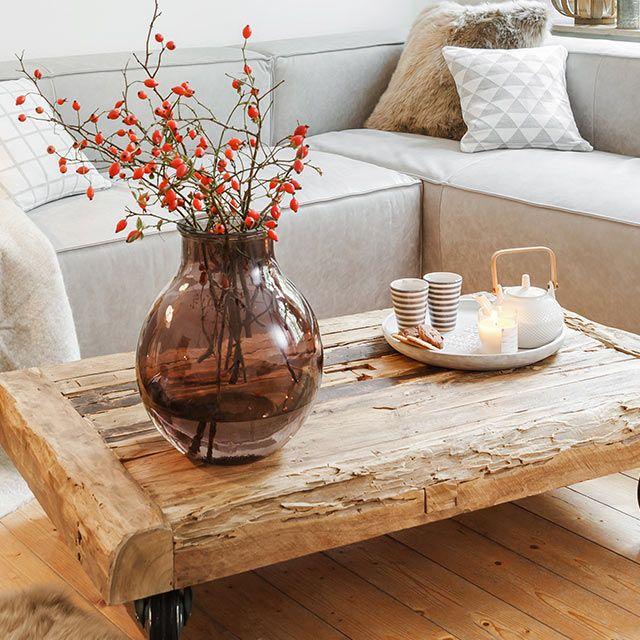 Cozy Living Couchtisch Nevada Und Teekanne Textured Khpos