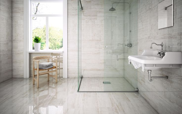 STN Ceramica from Tile of Spain recently introduced Eterna, a porcelain tile series with an elegant travertine finish available in matte and gloss.