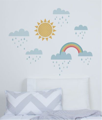 Sunny Day - Classic Wall Stickers - Wall Stickers - Wall Decor ~ tinyme.com.au