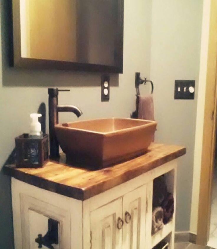 Custom Rustic Bathroom Vanities 135 best rustic bathroom vanities & more images on pinterest