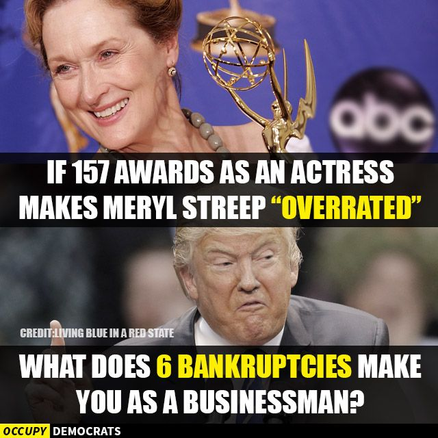 The best memes about the Russian hacking scandal, Trump's Cabinet of deplorables, and more.: Meryl Street vs. Donald Trump