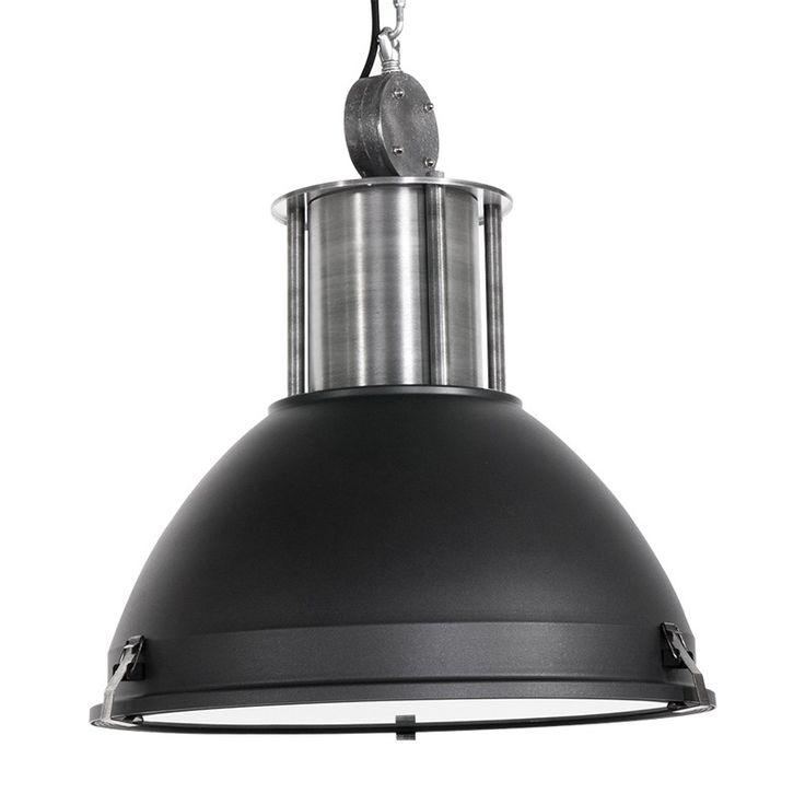 Steinhauer Warehouse Ceiling Pendant Light - Black - Lighting Direct