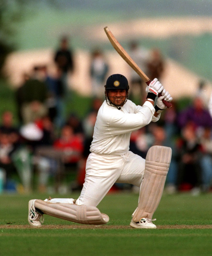 Sachin Tendulkar leans into a sublime square-drive | Cricket Photo | Cricinfo.com