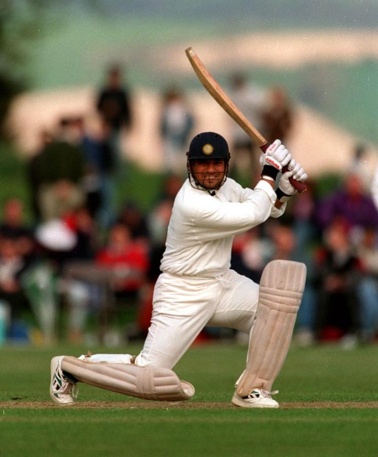 Sachin Tendulkar leans into a sublime square-drive | Cricket Photo | Cricinfo.com