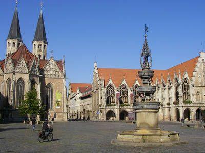 braunschweig | Löwe allgegenwärtig: Altstadtrathaus in Braunschweig