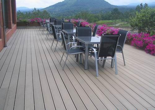 Exterior Laminate Sheet Decking Outdoor Flooring Wood