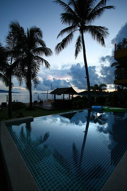 Sunrise - Koh Samui, Thailand, I'll be seeing that in a few months!!!!