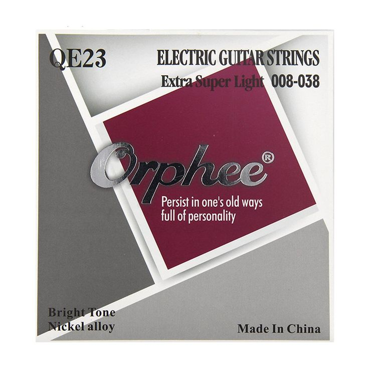Visit To Electric Guitar Strings 008 038 Hexagonal Nickel Alloy