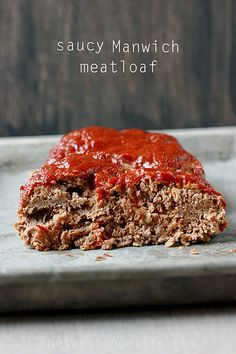 Quick meatloaf recipe using hunts Manwich