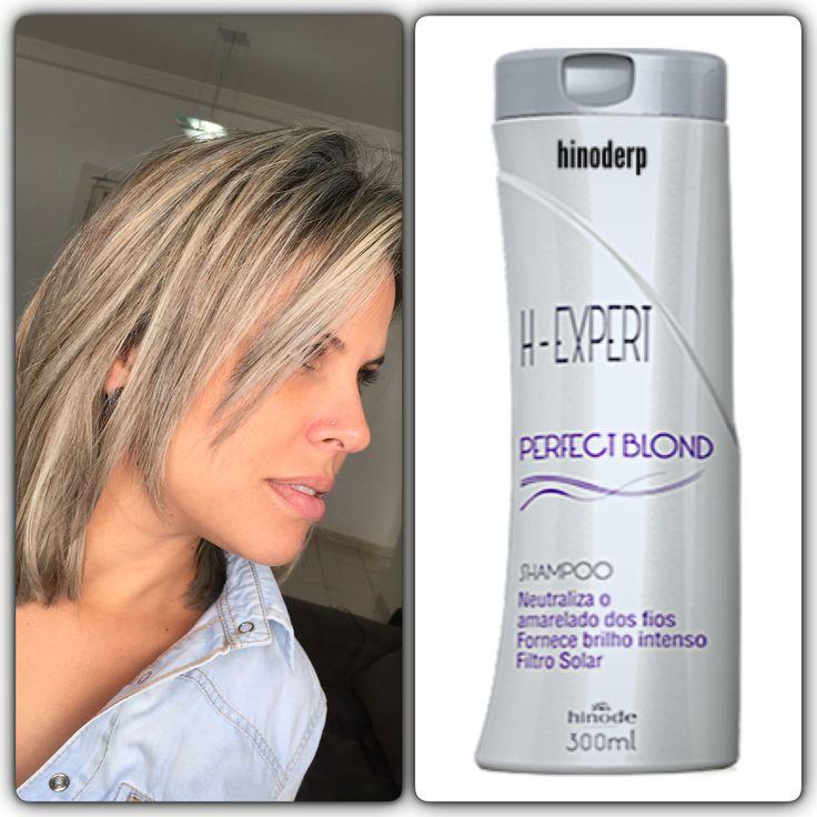 H-EXPERT • PERFECT BLOND • SHAMPOO – 300ml  Os fios loiros precisam de cuidados redobrados. O desamarelador H-Expert remove pigmentos amarelados dos cabelos descoloridos ou tingidos de loiro, deixando-os macios, com brilho e hidratados. Benefícios: Desenvolvido com pigmento violeta, que neutraliza os tons amarelados indesejados, e extrato de camomila,que fornece luminosidade aos fios, a fórmula de PERFECT BLOND possui filtro solar para maior proteção da fibra capilar. Quer ser um Micro…