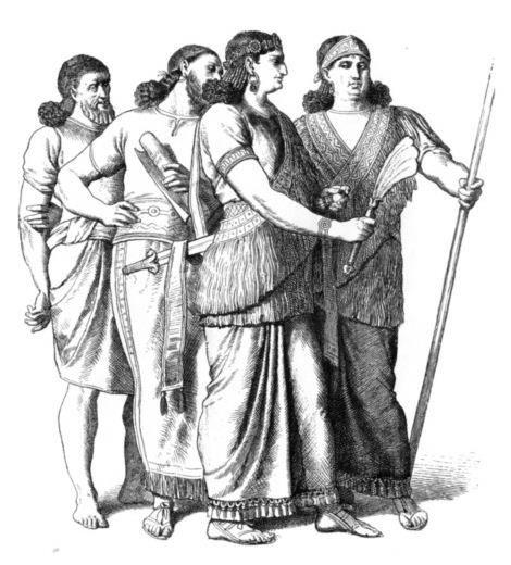 История костюма древнего вавилона