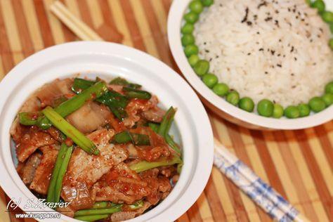 Жареная свинина с кимчи (рецепт с фото) | Корейская кухня