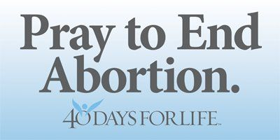 Is praying to end abortion missing the point? Thoughts on the pro-life movement from LiveRenewed.com