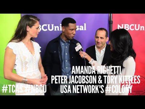 "Amanda Righetti, Peter Jacobson & Tory Kittles - USA Network's ""Colony"" - @AmandaERighetti @ToryKittles at NBCUniversal's Winter 2016 Press TCA Tour #NBCU #TCA2016"