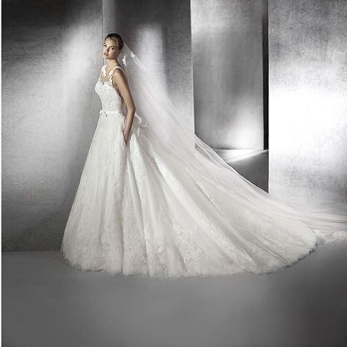 Fashionably Yours - Zurilia Wedding Gown By San Patrick, please call 02-9487 4888 for pricing. (http://www.fashionably-yours.com.au/zurilia_wedding_gown_by_san_patrick/)