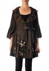 ryu clothing | NWT Ryu Charcoal 3 4 Sleeve Wool Blend Swing Jacket | eBay