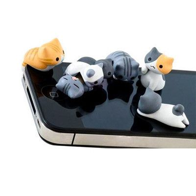 Cat Academy Phone Plugy Set - I don't think they have a purpose but I still want them