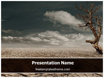 24 best free agriculture powerpoint ppt templates images on download free drought land powerpoint template for your powerpoint toneelgroepblik Image collections