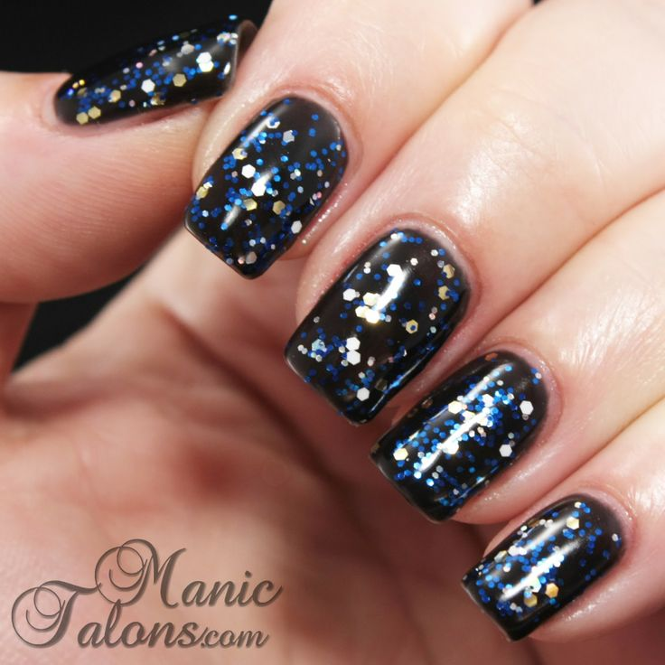 IBD Just Gel Sapphire & Ice Over Black Lava