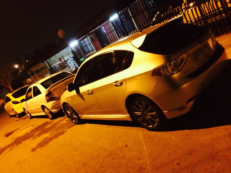 Whit friends opel astra gsi and opel corsa opc