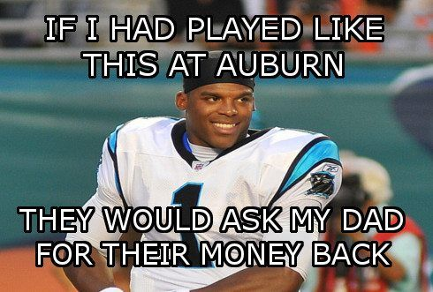 carolina panthers funny | ... , Sports Memes, Funny Memes, Football Memes, NFL Humor, Funny Sports