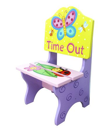 Love this Magic Garden 'Time Out' Chair on #zulily! #zulilyfinds-$40