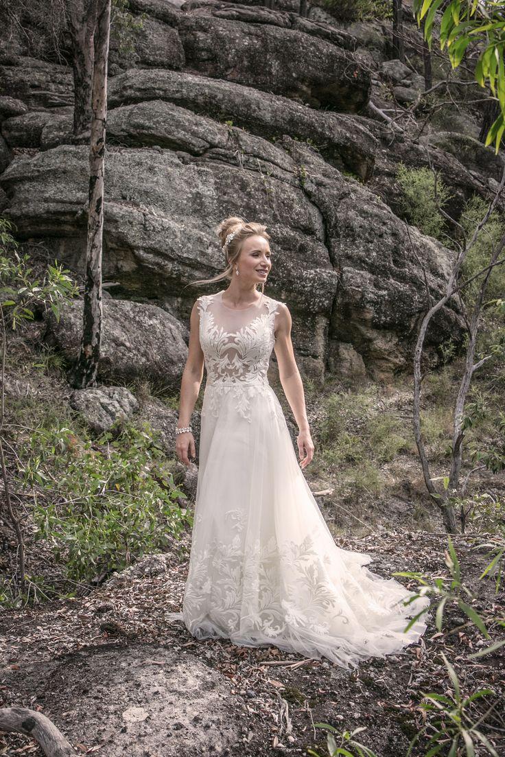 Aria wedding gown - Ella Moda collection 2016