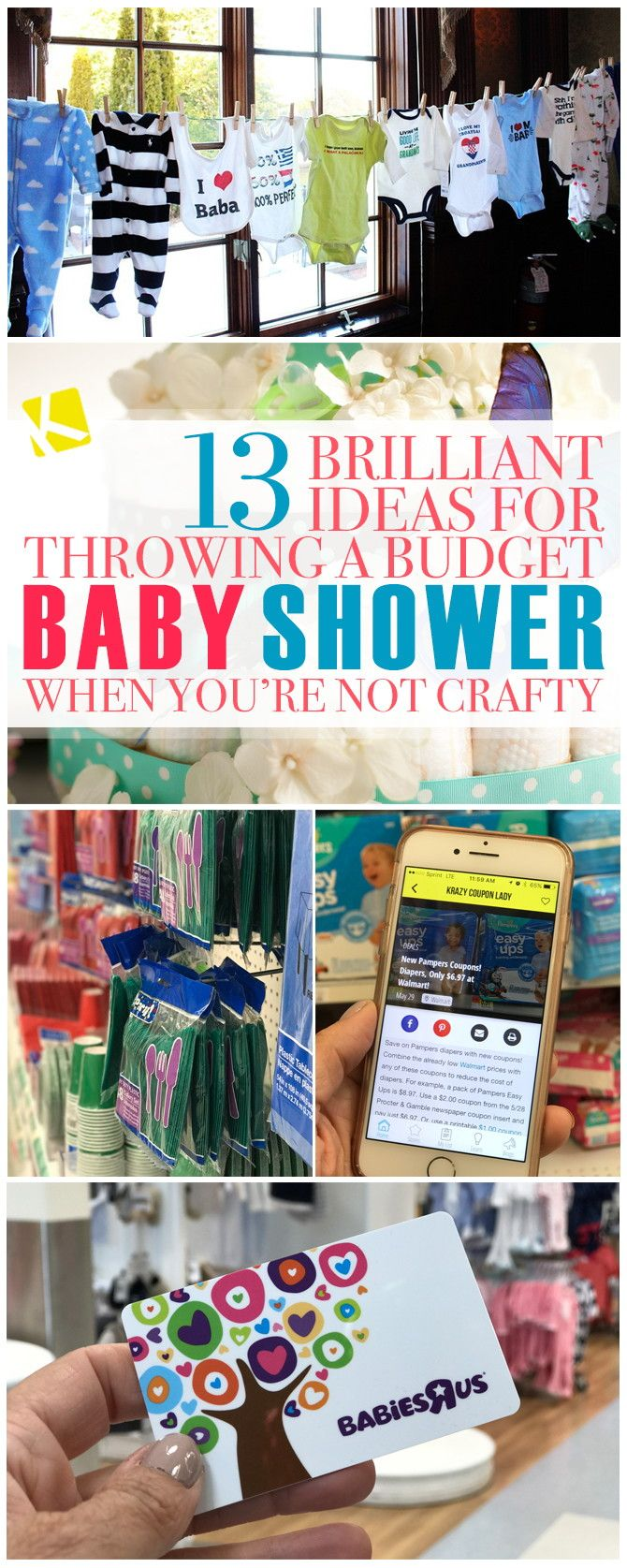 244 best knockout knockoffs images on pinterest saving money 12 brilliant ideas for throwing a budget baby shower when you re not crafty