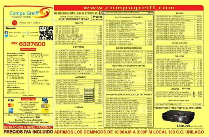 Lista de-precios-compugreiff-septiembre-30-2013