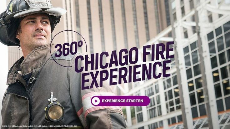 "Chicago Fire: Universal Channel creates virtual experience Universal Channel in Germany creates virtual experience for 'Chicago Fire'In anticipation of the recent season four premiere of ""Chicago Fire"" in Germany, Universal Channel Germany launched an interactive 360° video on its website to draw attention to the new episodes. The VR experience takes users inside a burning house and allows them to experience a fire-fighting operation from a first person perspective. ..."