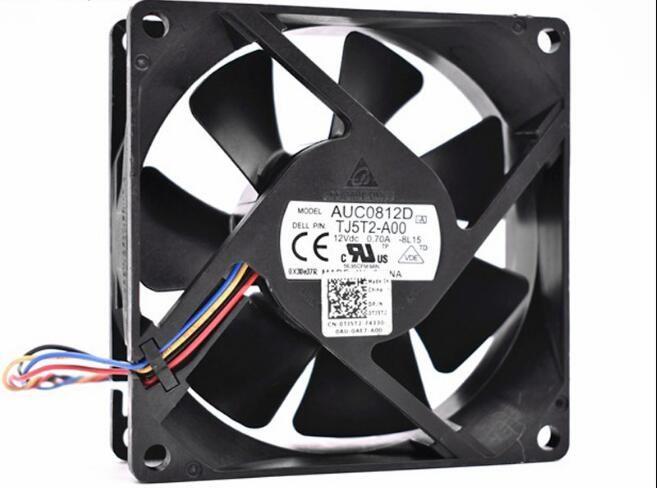 Delta Auc0812d 12v 0 7a 4wires Cooling Fan Cooling Fan Fan Delta