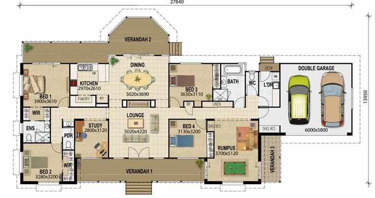 Acreage designs – House Plans Queensland