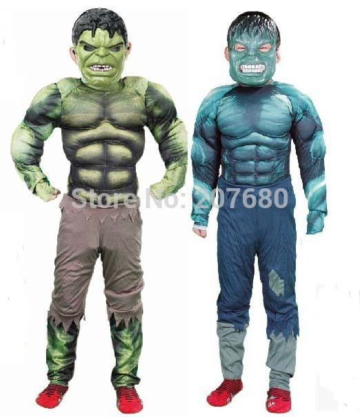 >> Click to Buy << New Avengers Hulk costume dress for kids Fancy dress Halloween Party decorations supplies children gifts #Affiliate