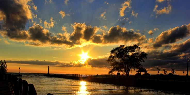 sun set grand bend