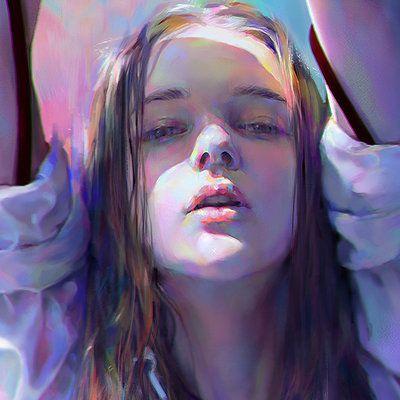 Artstation Yanjun Cheng Paint On Canvas Pinterest