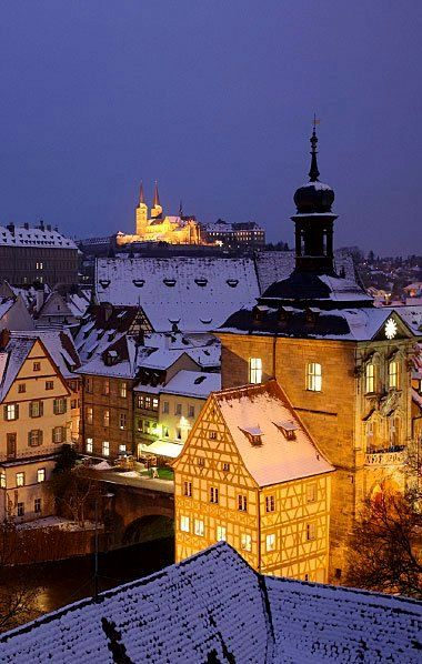 Winter Nights.. Bamberg, Bavaria, Germany