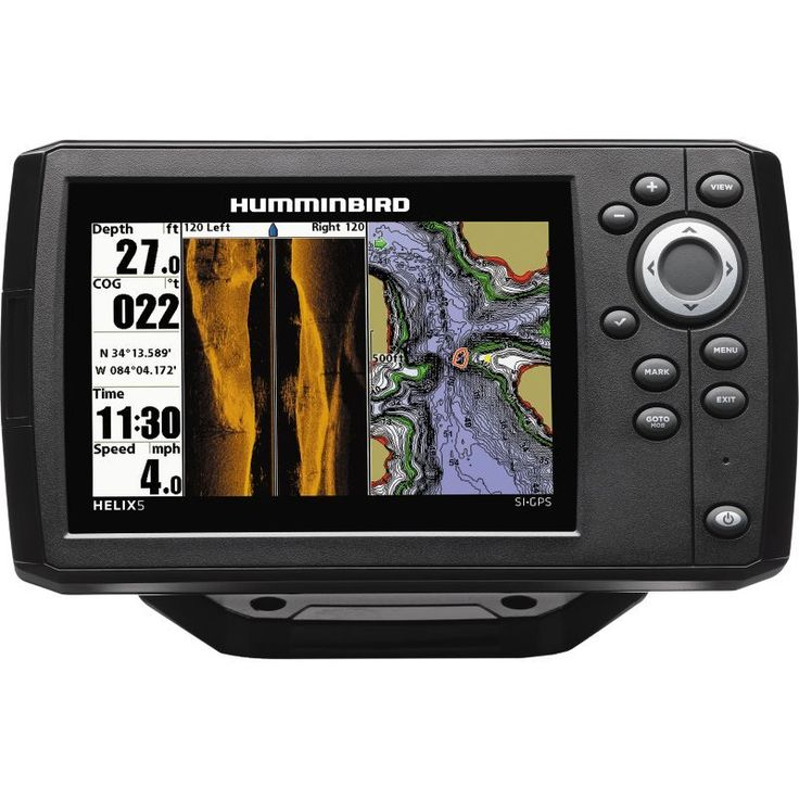 Humminbird Helix 5 G2 SI GPS Fish Finder Combo, Gold