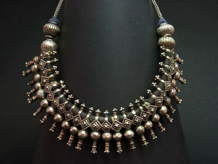 Kuchi old silver choker - berbería