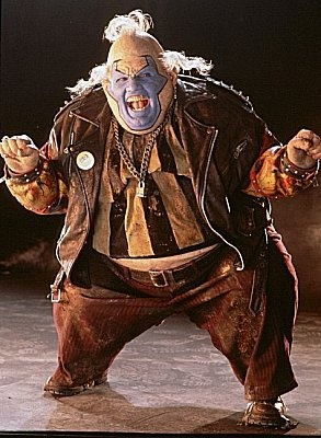 Spawn (1997)  John Leguizamo as Clown/Violator - great acting and villain work in that movie.