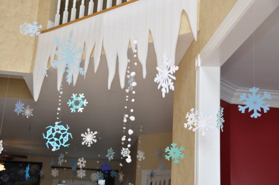 Frozen Birthday Party Decorations: by BridgetsBirthdayBlog on Etsy