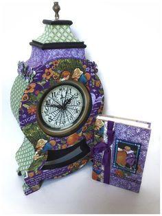 Children's Hour October Clock and DIY Journal