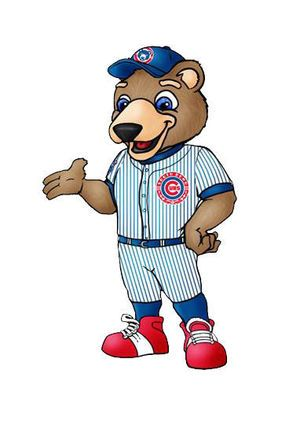 South Bend Cubs' mascot