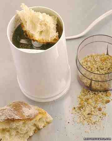 Grinder Care: Freshly ground seeds of cumin, coriander, and fennel don't just spice up your cooking, they also cling to the grinder. For a quick cleaning, run soft, fresh white bread through the grinder to pick up lingering spices and absorb the oil they lea