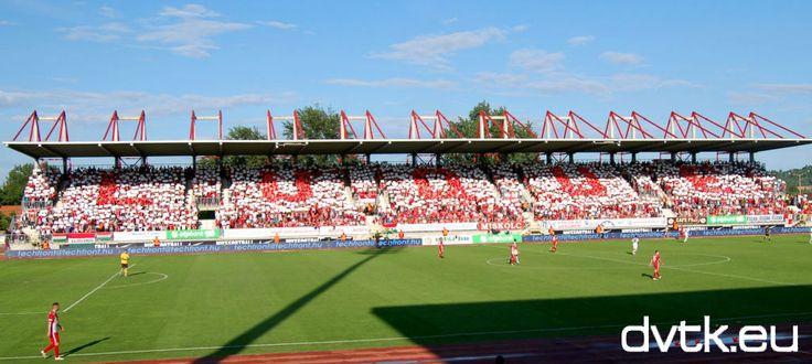 Így búcsúzott a diósgyőri közönség José Luquétól a DVTK - Pápa mérkőzés 77. percében (2013. június 2.)