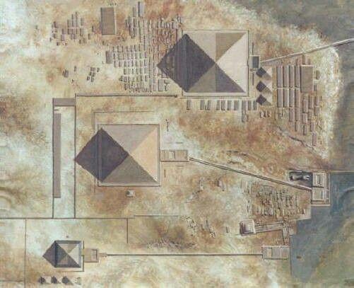 planets match pyramids of giza - photo #47