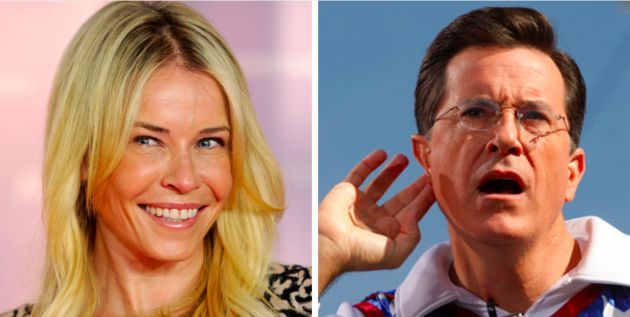 Chelsea Handler Slams Stephen Colbert For Not Being Himself On 'The Late Show' - http://thisissnews.com/chelsea-handler-slams-stephen-colbert-for-not-being-himself-on-the-late-show-2/