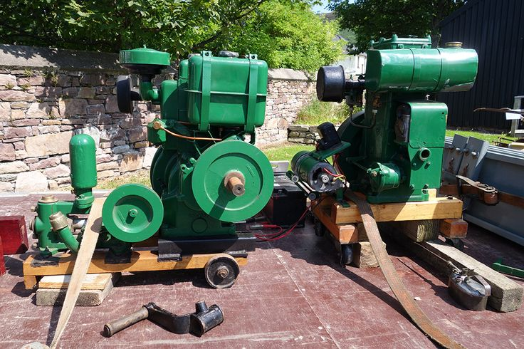 Green Lister D stationary engine 1937